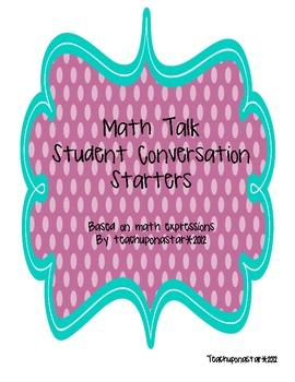 Math Talk Starbursts