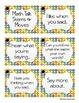 Math Talk: Stem and Move Cards