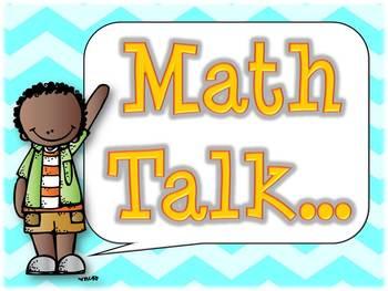 Math Talk Thinking Stems