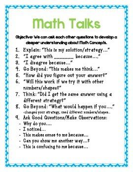 Talking, Writing, and Reasoning: Making Thinking Visible with Math Journals