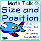 Math Talk about Size and Position Words and Concepts