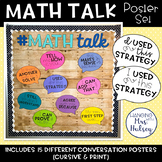 Math Talk or Number Talk Posters