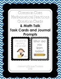Math Talk/Math Practice Question/Task Cards Double Pack