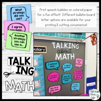 Math Talking Stems