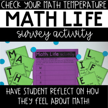 Math Talks--Beginning of School--Discussion Cards and Activity