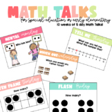 Math Talks | Distance Learning & In-Person