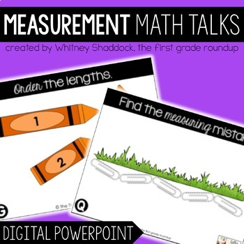 Math Talks: Linear Measurement