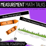 Digital Math Talks on Linear Measurement