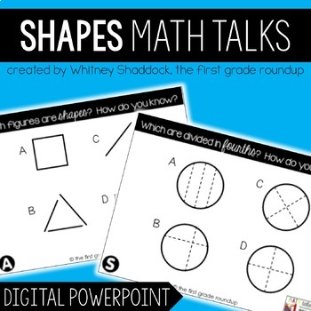 Math Talks: Shapes
