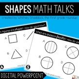Digital Math Talks: Shapes