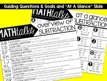 Digital Math Talks: Subtraction