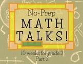 Math Talks for 2nd Grade- PART 2