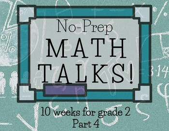 Math Talks for 2nd Grade-- PART 4