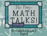 Math Talks for 2nd Grade-- PART 4