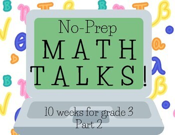 Math Talks for 3rd Grade, PART 2