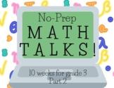 Math Talks for 3rd Grade, PART 2