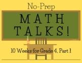 Math Talks for 4th Grade- PART 1