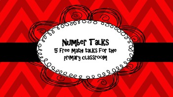 Math Talks for the Primary Classroom