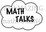 Math Talks or Conversation Starters