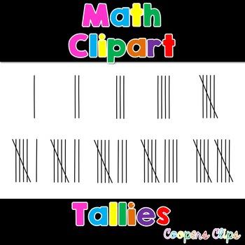 Math: Tally Clipart