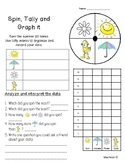 Math Tally Graph worksheet