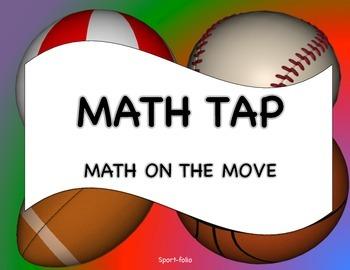 Math Tap - Math on the Move