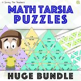 Math Tarsia Puzzles Growing Bundle