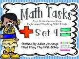Math Tasks- 1st Grade- Set 4