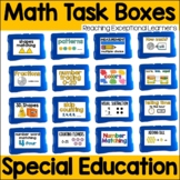 Math Task Box Activities for Special Education