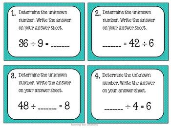 Math Task Card BUNDLE!