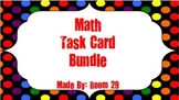 Math Task Card Bundle