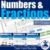 Math Task Card Bundle #1 3rd Grade