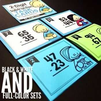 Math Task Cards Bundle | Math Centers | Math Games
