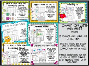 Task Card Math Centers