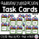 Math Task Card Endless Bundle for Kindergarten and First Grade