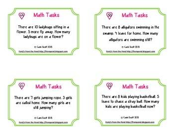 Math Task Card Sampler