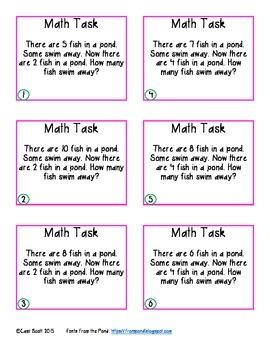 Math Task Card Sampler 2