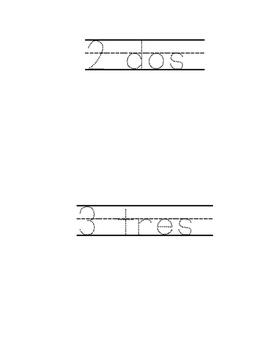 Math Task Card Ten Frames 1-20 Matematicas en espanol