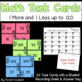 Math Task Cards - 1 More and 1 Less up to 120