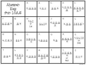 Math Task Cards 1.OA.5
