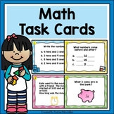 Math Task Cards - First Grade