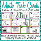 Math Task Cards 2.OA.2 {Second Grade}