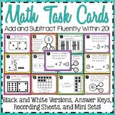 Math Task Cards 2.OA.2 {Second Grade}