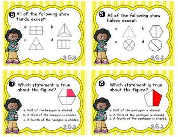 Common Core Math Task Cards - 2.G