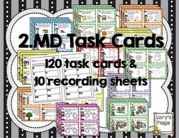 Common Core Math Task Cards - 2.MD