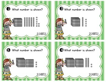 Common Core Math Task Cards - 2.NBT