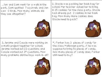 Math Task Cards