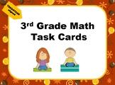 Math Task Cards (3rd Grade) TEKS/STAAR-aligned