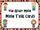 Math Task Cards (4th Grade) TEKS/STAAR-aligned