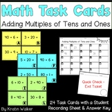 Math Task Cards - Adding Multiples of Tens and Ones